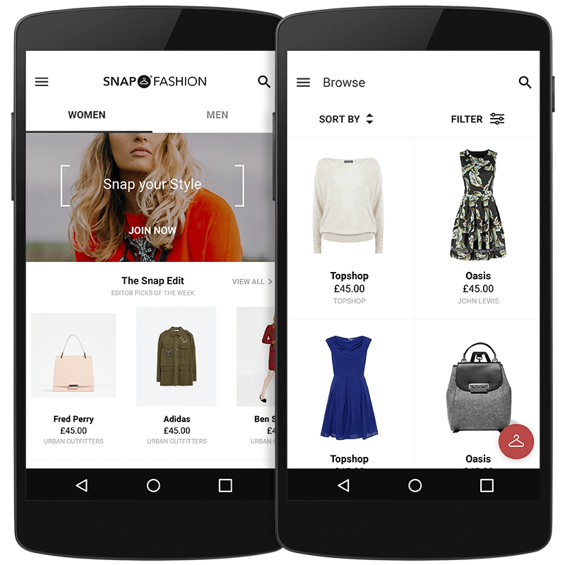 Snap Fashion for Android