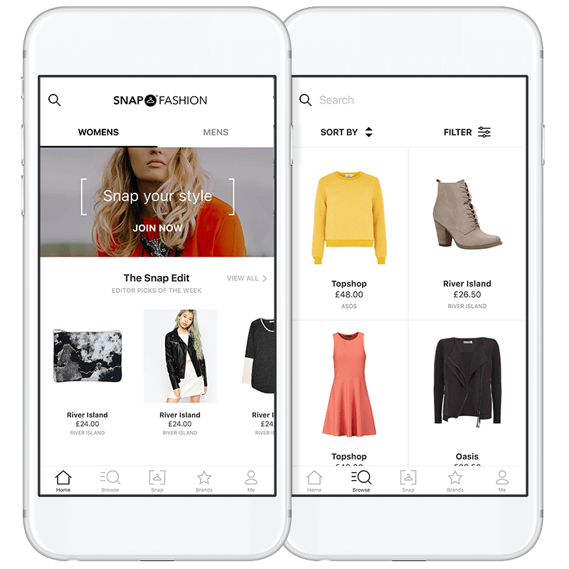 Snap Fashion for iOS
