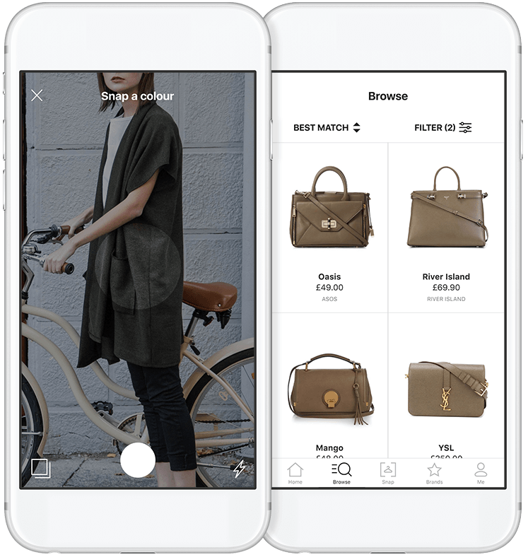 Snap Fashion iOS app